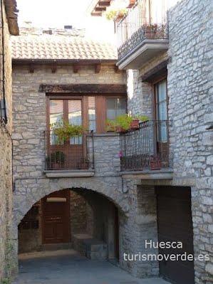 TURISMO VERDE HUESCA. Casa Casbas de Guasillo (Jaca)